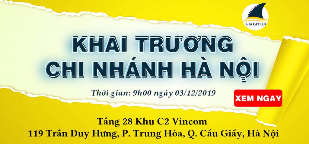 khai trương chi nhánh Hà Nội