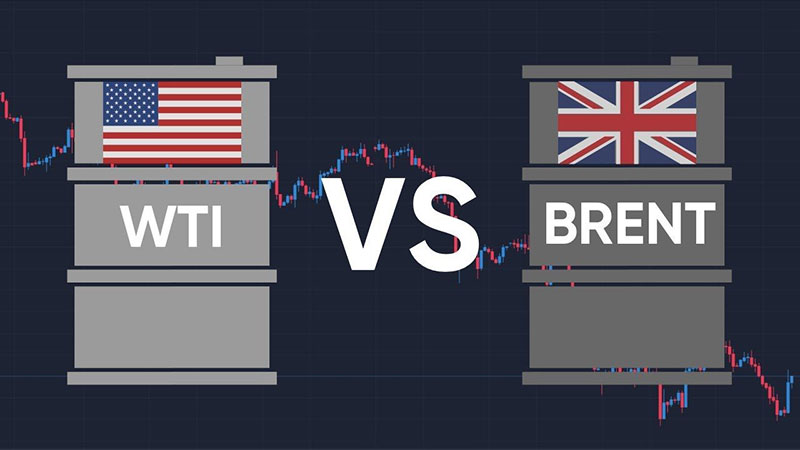 dầu Brent và dầu WTI