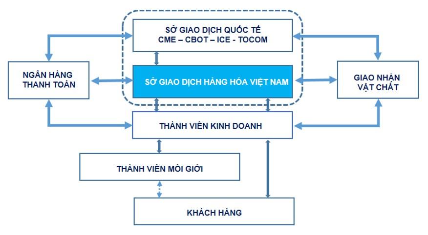 Mô hình hoạt động sở giao dịch hàng hóa Việt Nam