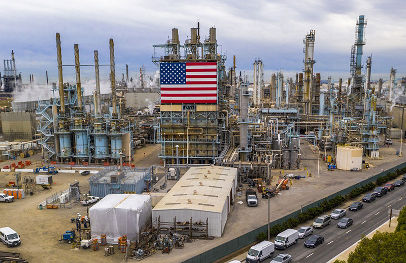 Sản xuất dầu mỏ