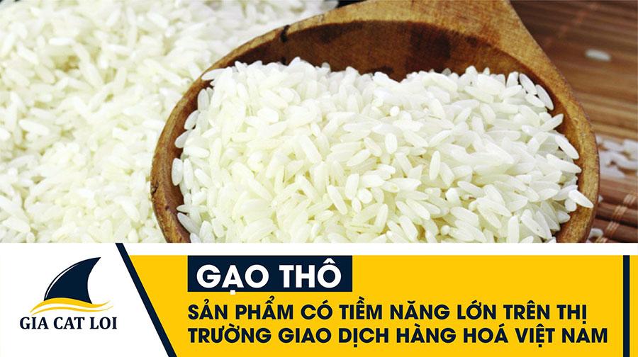 gạo thô